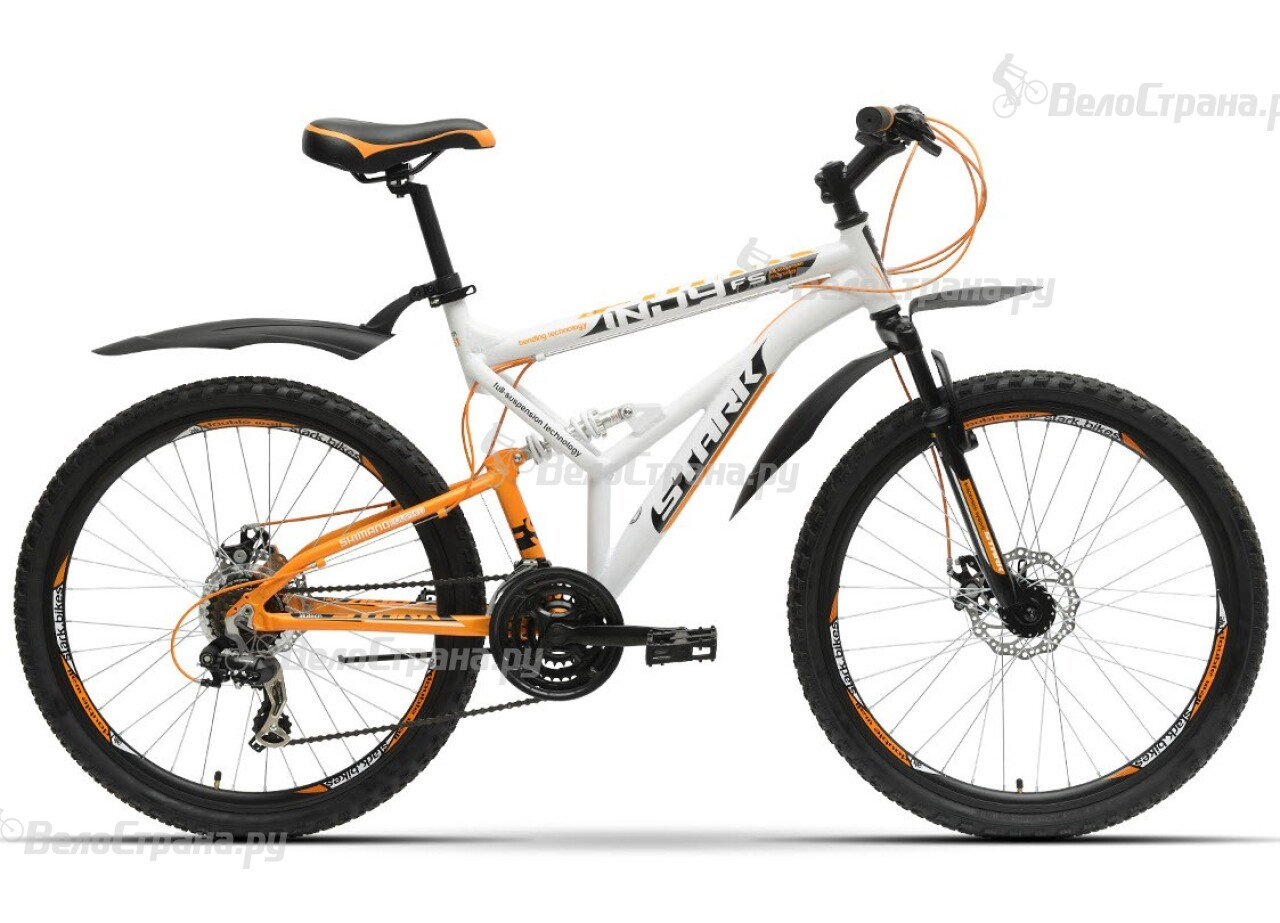 Велосипед Stark Indy FS Disc (2016) велосипед challenger mission lux fs 26 черно красный 16
