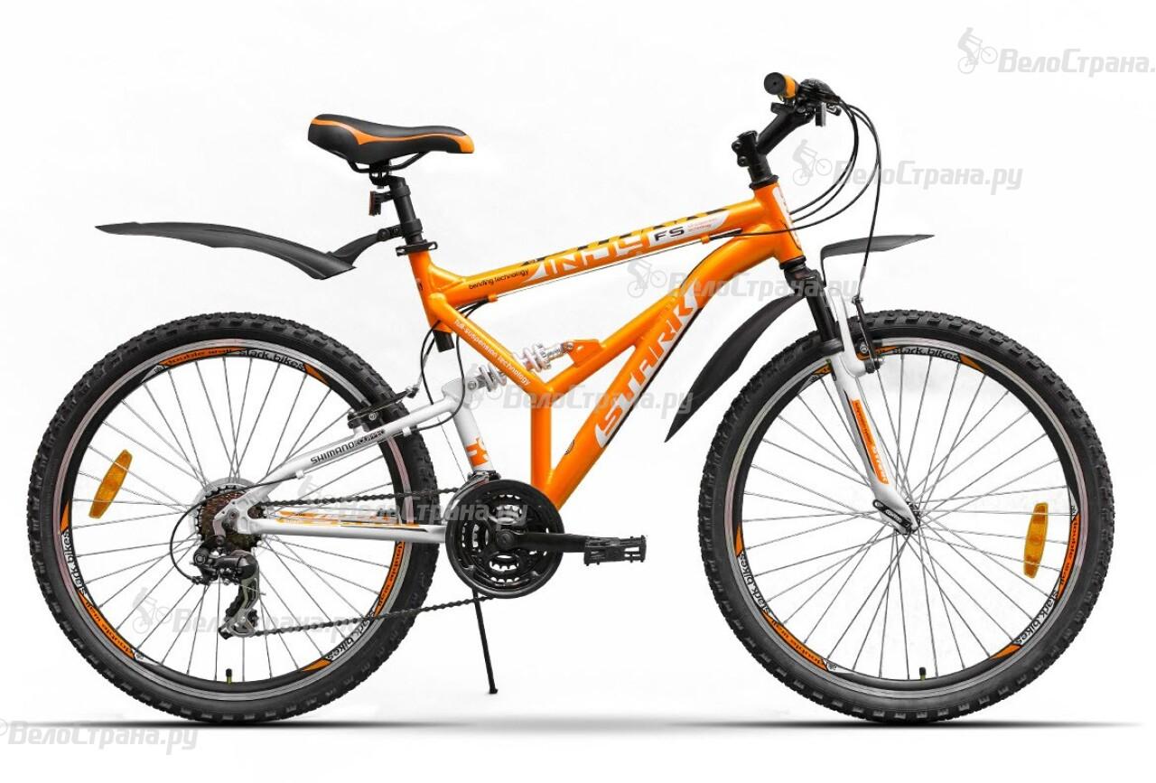 Велосипед Stark Indy FS (2016) велосипед challenger mission lux fs 26 черно красный 16