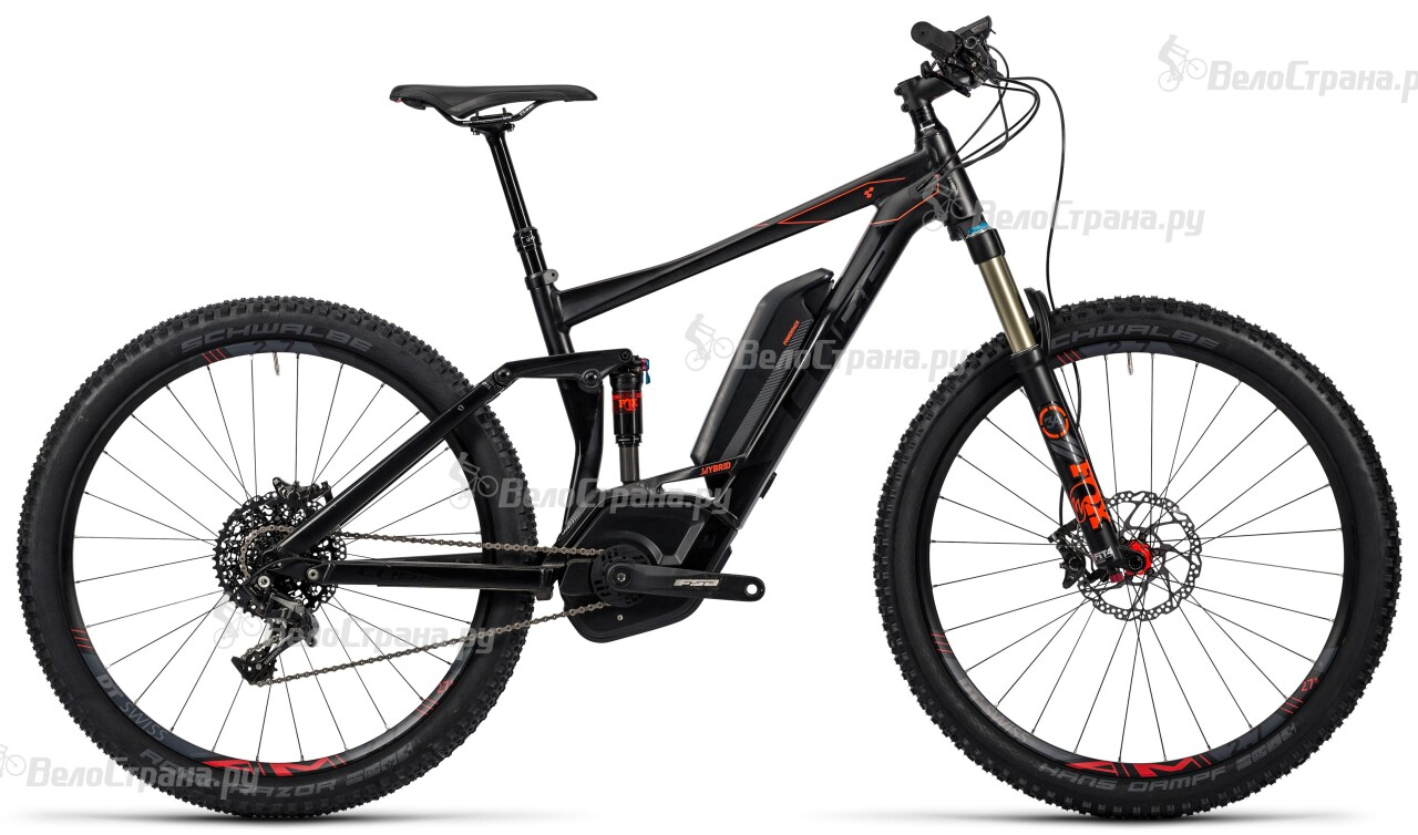 Велосипед Cube Stereo Hybrid 120 HPA SL 500 29 (2016)
