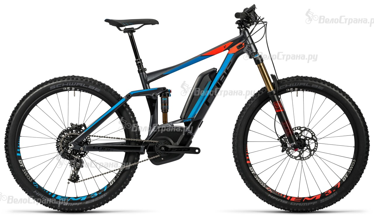 Велосипед Cube Stereo Hybrid 140 HPA SL 500 27.5 (2016) велосипед cube stereo 140 hpa sl 27 5 2016