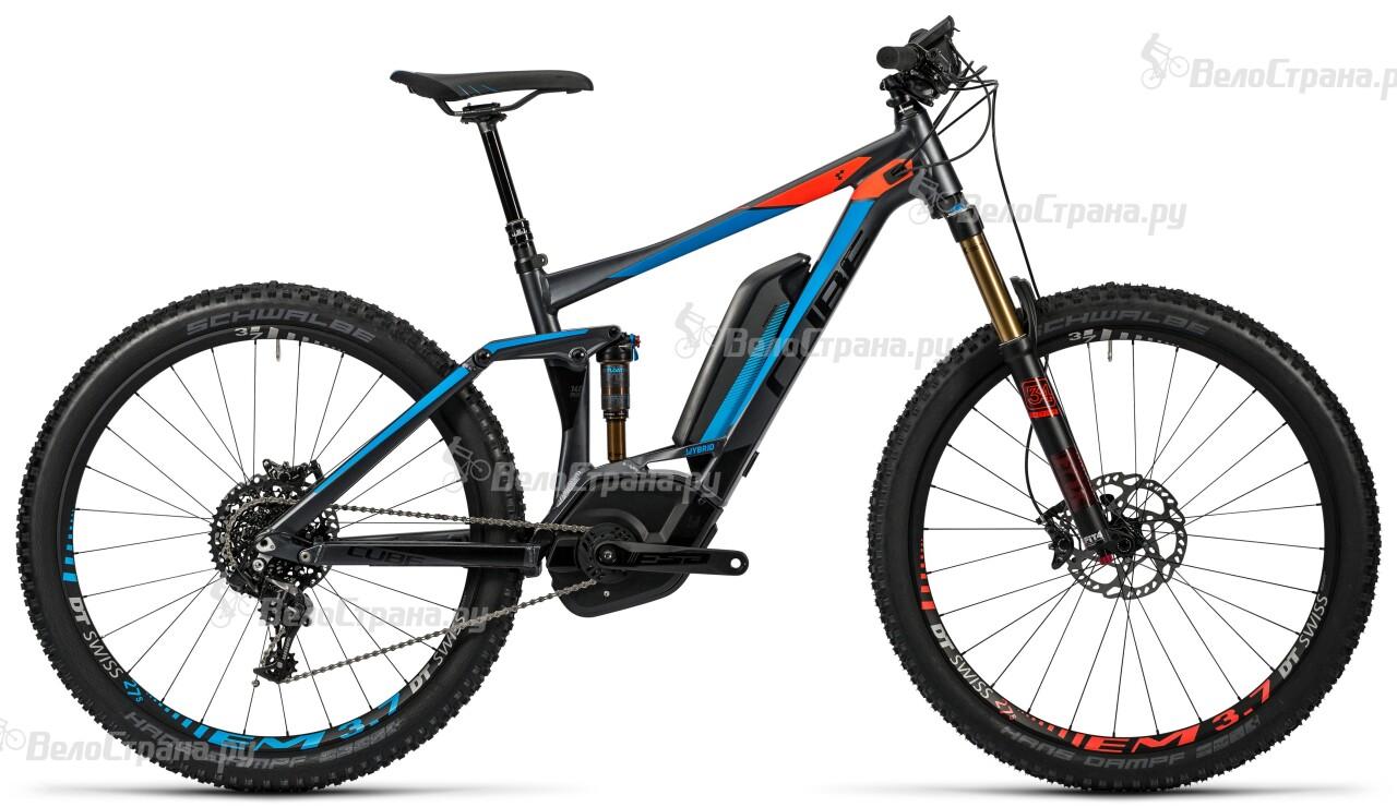 Велосипед Cube Stereo Hybrid 140 HPA SL 500 27.5 (2016)