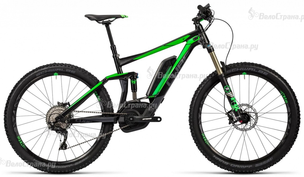 Велосипед Cube Stereo Hybrid 140 HPA Race 500 27.5 (2016)