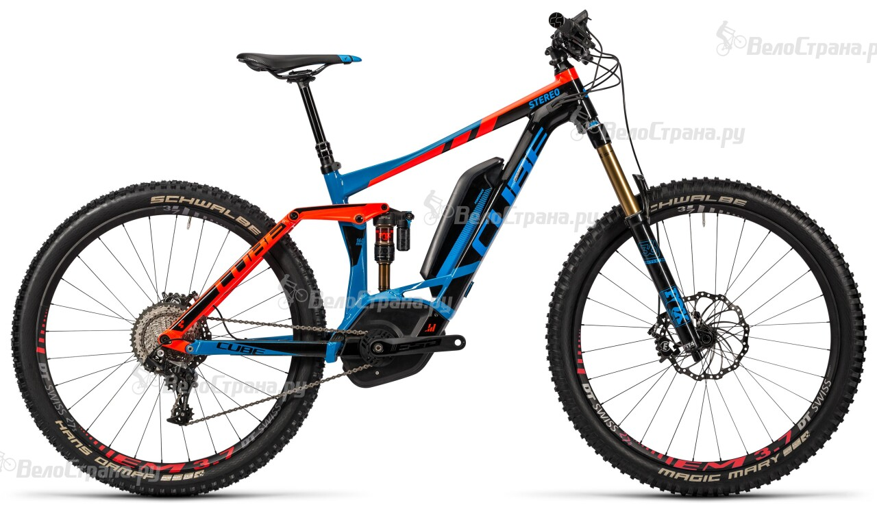 Велосипед Cube Stereo Hybrid 160 HPA Action Team 500 27.5 (2016) велосипед cube stereo 160 hpa race 27 5 2016