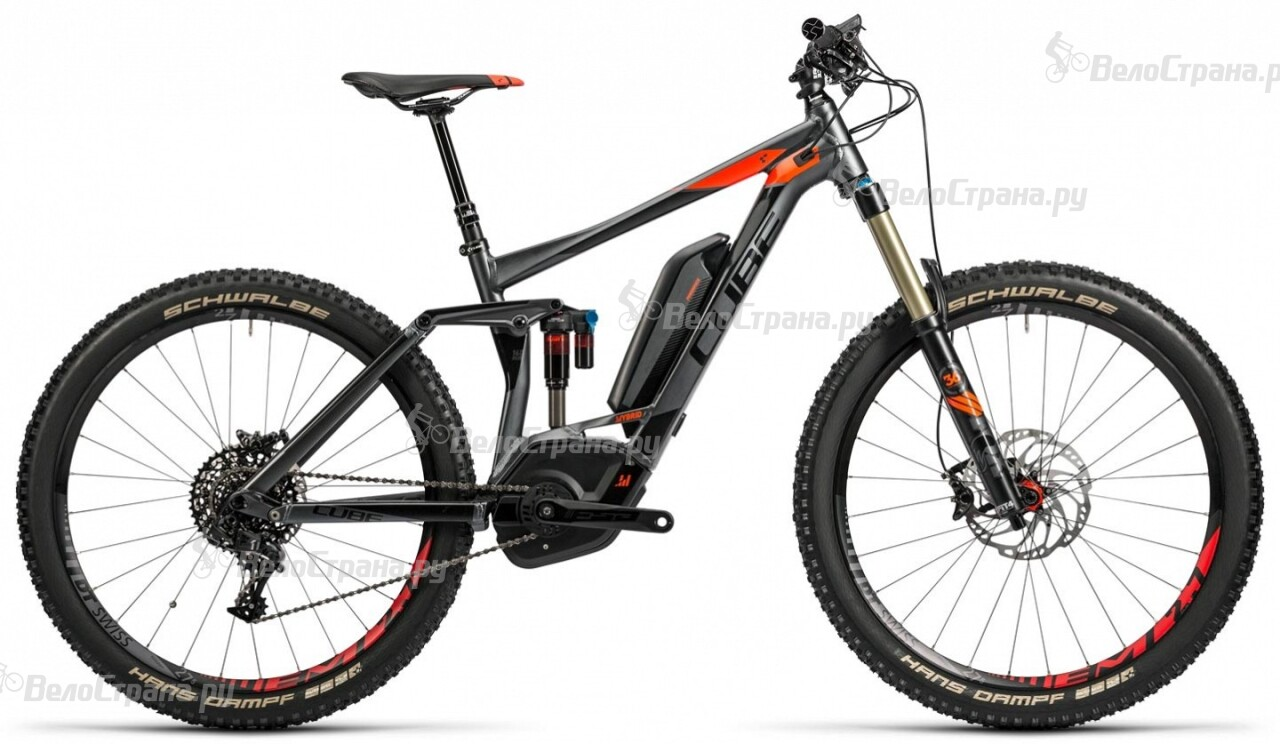 Велосипед Cube Stereo Hybrid 160 HPA SL 500 27.5 (2016) велосипед cube stereo 160 hpa tm 27 5 2015
