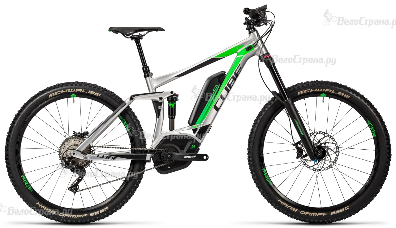 Велосипед Cube Stereo Hybrid 160 HPA Race 500 27.5 (2016) велосипед cube stereo 160 hpa race 27 5 2015