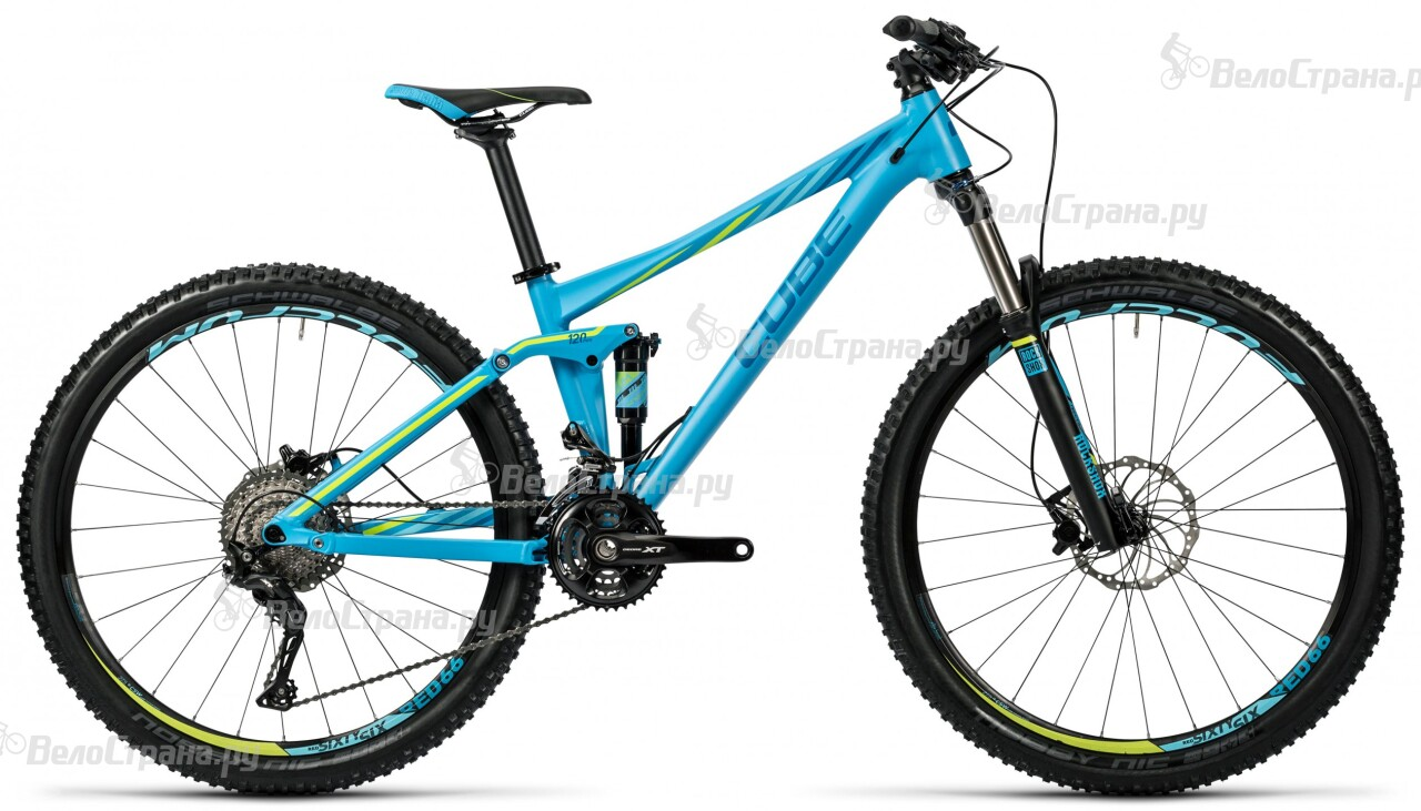 Велосипед Cube Sting WLS 120 Pro 27,5 (2016)