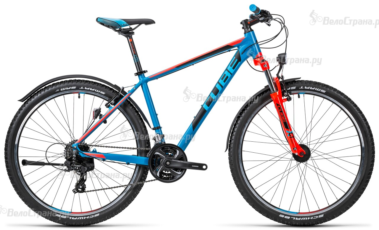 Велосипед Cube Aim Allroad 27.5 (2016) велосипед cube curve allroad 2016