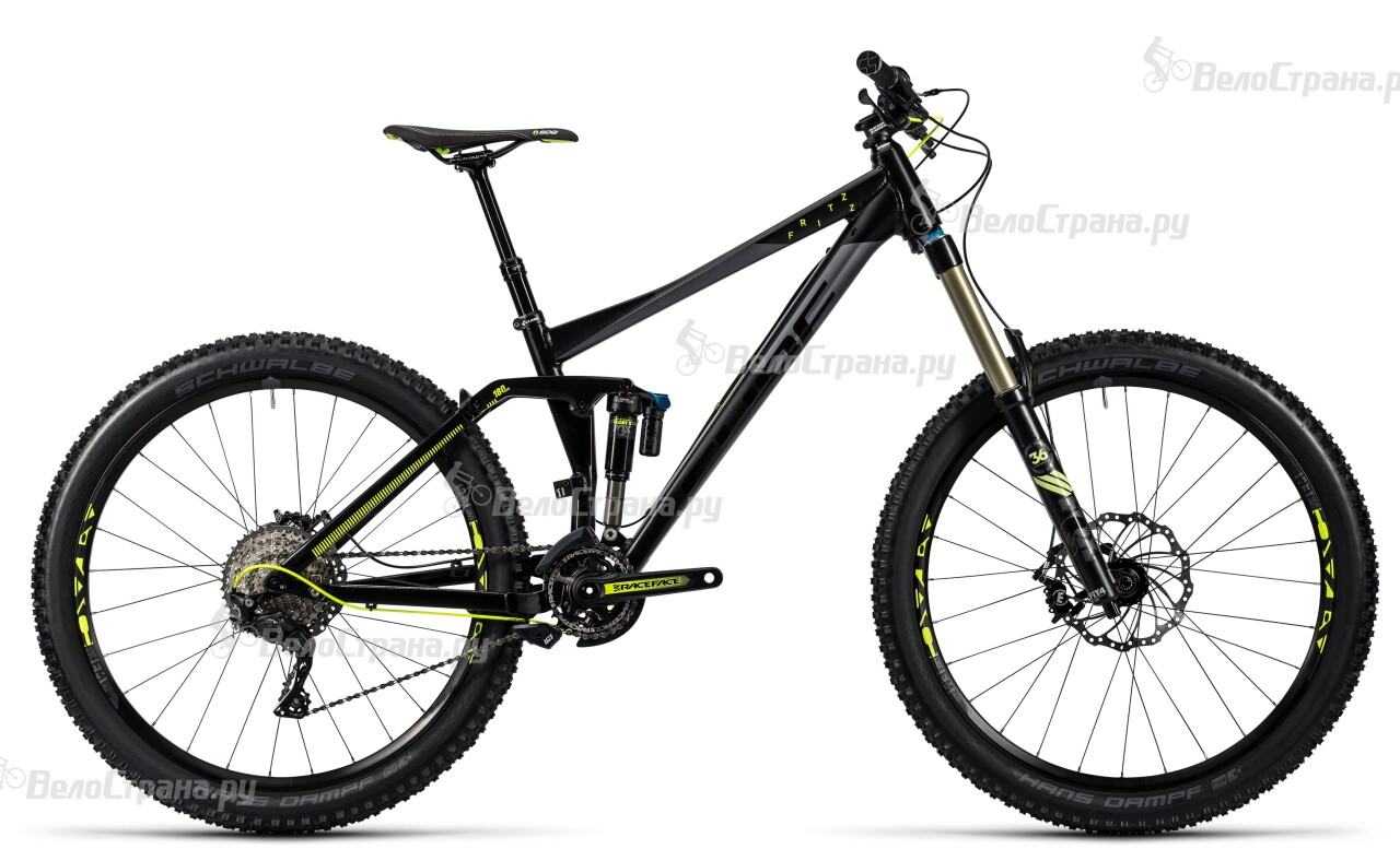 Велосипед Cube Fritzz 180 HPA Race 27.5 (2016) грипсы cube fritzz grips