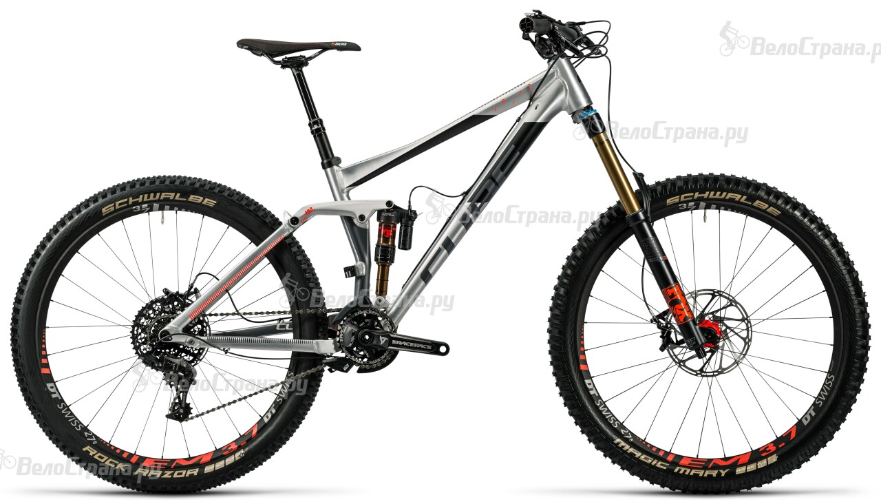 Велосипед Cube Fritzz 180 HPA SL 27.5 (2016) грипсы cube fritzz grips