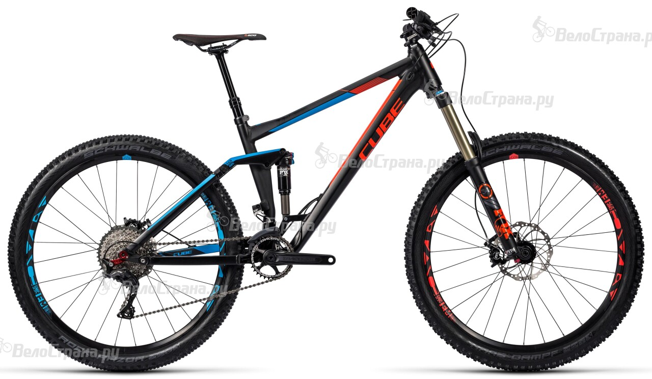Велосипед Cube Stereo 160 HPA Race 27.5 (2016) велосипед cube stereo 120 hpa race 29 2016
