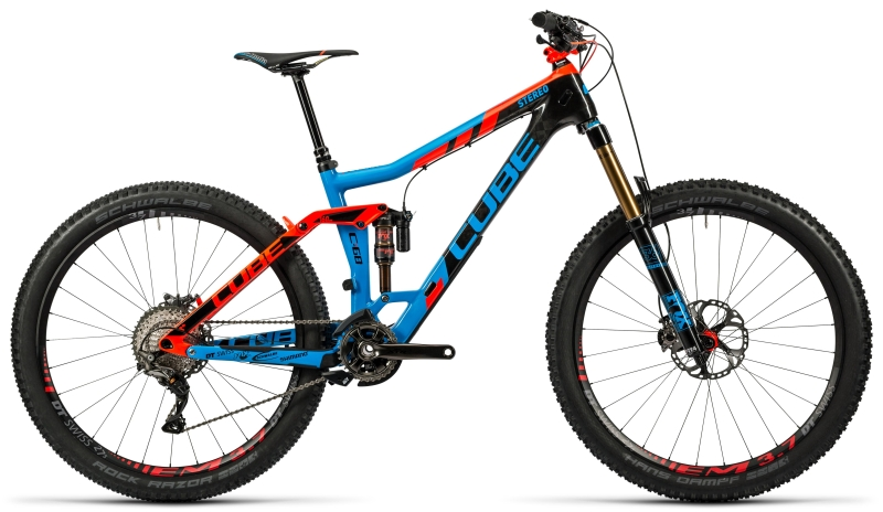 Cube Stereo 160 C:68 Action Team 27.5 (2016)