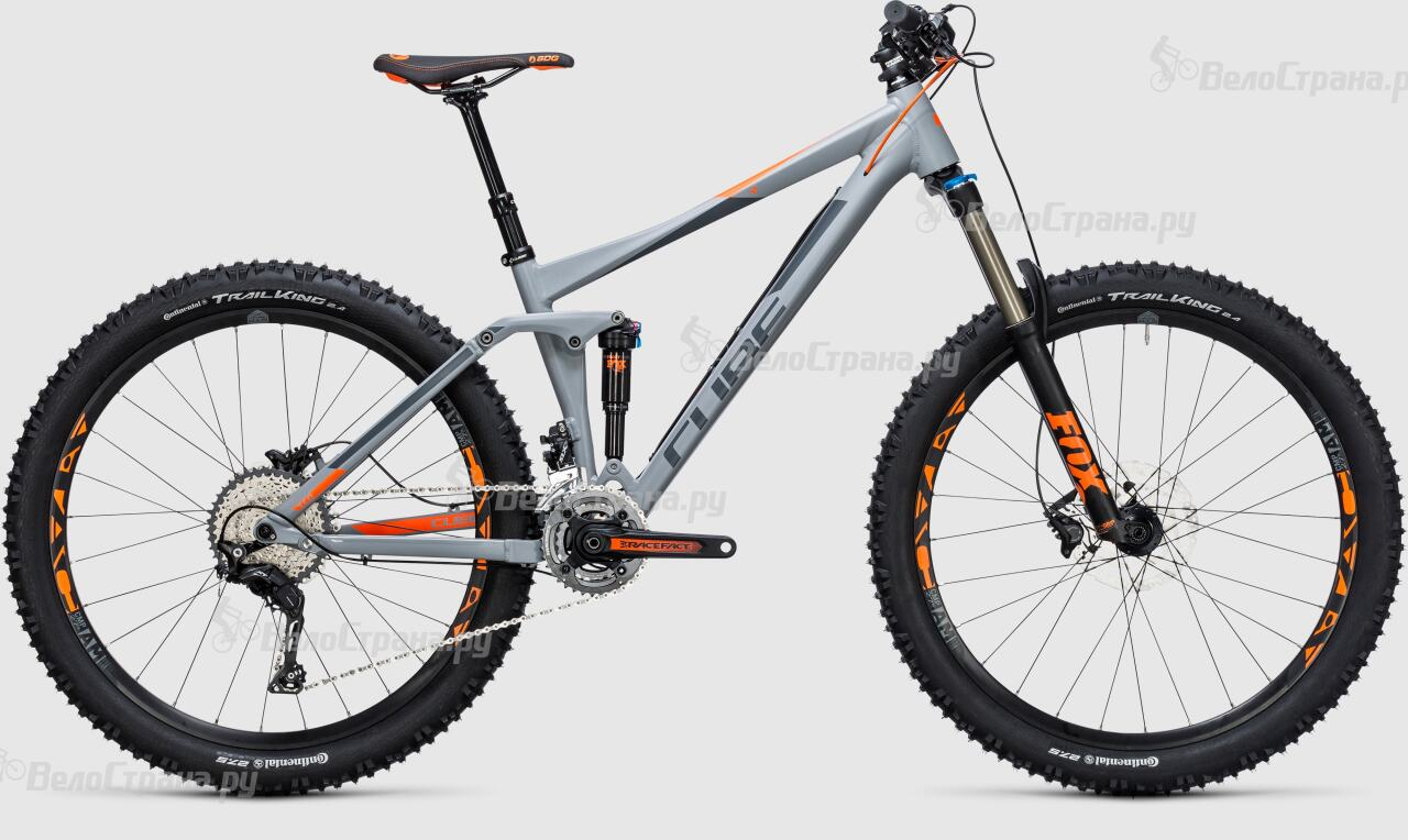 Велосипед Cube Stereo 140 HPA Pro 27. (2017) велосипед cube stereo 160 hpa race 27 5 2016