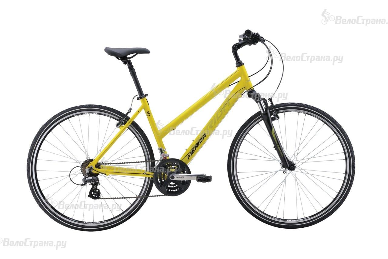 Велосипед Merida Crossway 10-V Lady (2016) велосипед merida crossway urban 20 md lady 2017