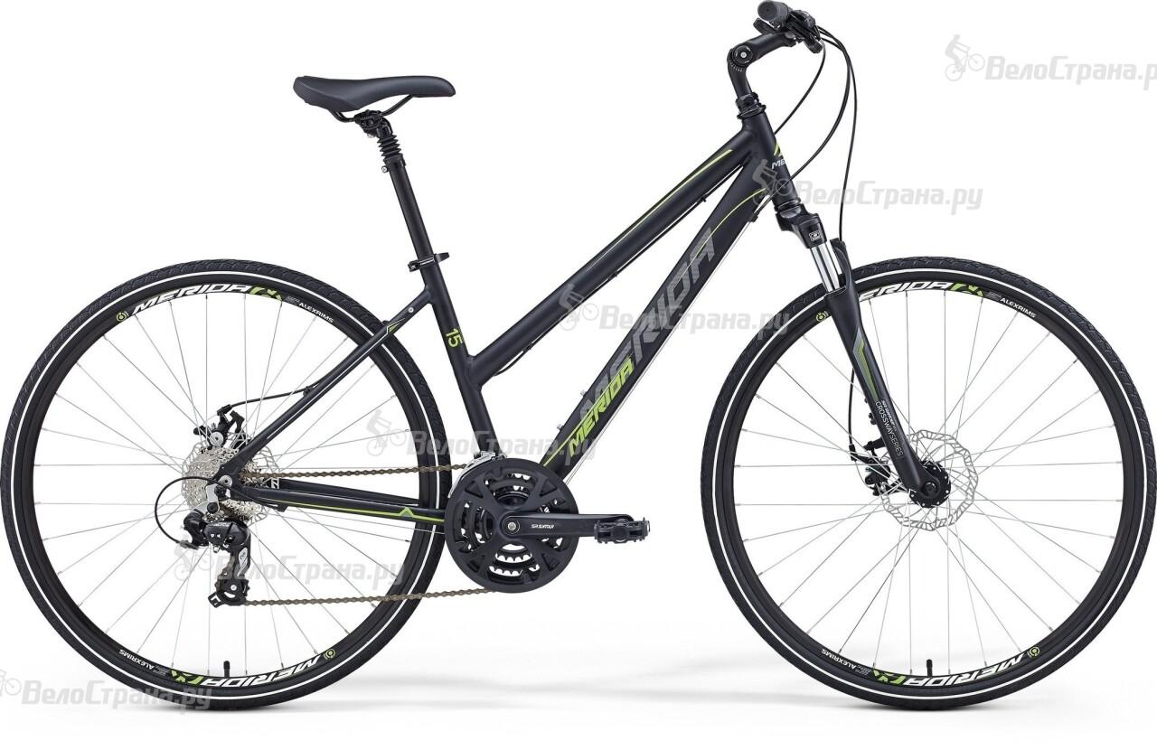 Велосипед Merida Crossway 15-MD Lady (2016) велосипед merida crossway urban 20 md lady 2017