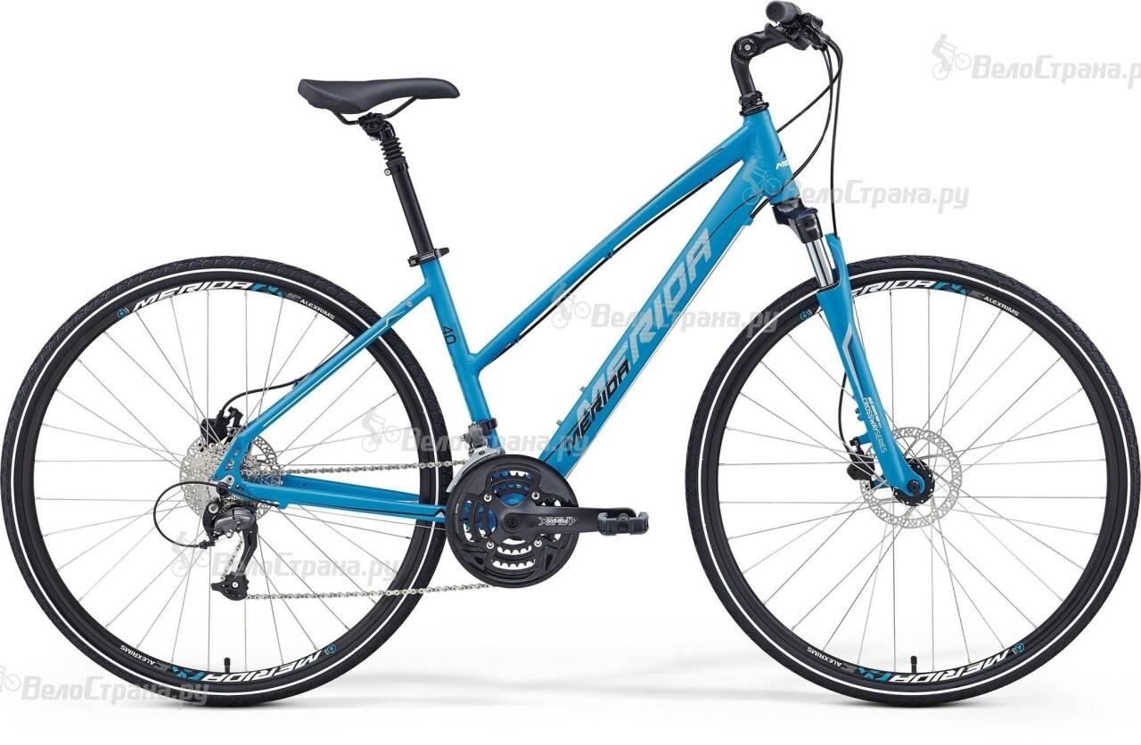 Велосипед Merida Crossway 40-D Lady (2016) велосипед merida crossway 40 d 2017