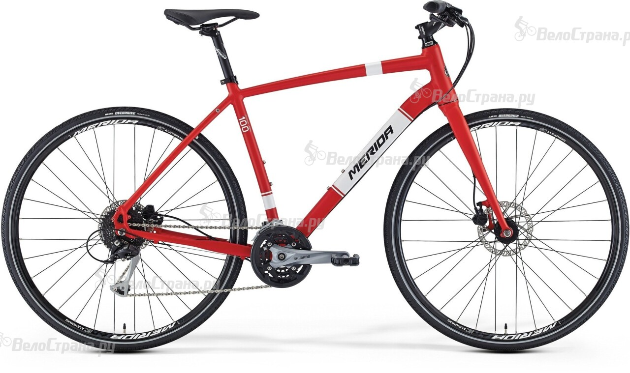 Велосипед Merida Crossway urban 100 (2016) велосипед merida crossway urban 20 md lady 2017