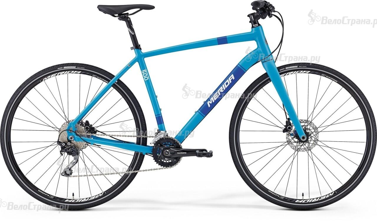 Велосипед Merida Crossway urban 500 (2016)