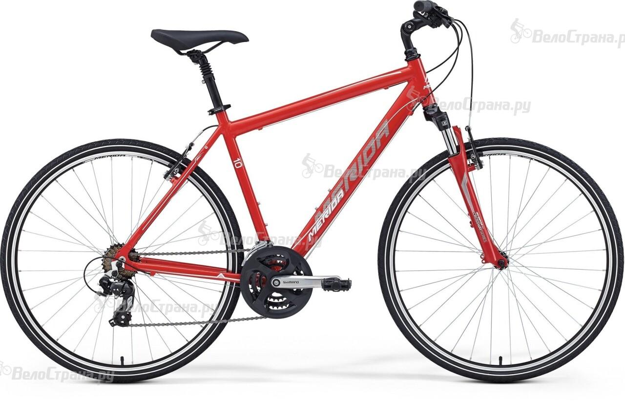 Велосипед Merida Crossway 10-V (2016) велосипед merida crossway 5 v 2016 колеса 28 рама 18 голубой голубой белый