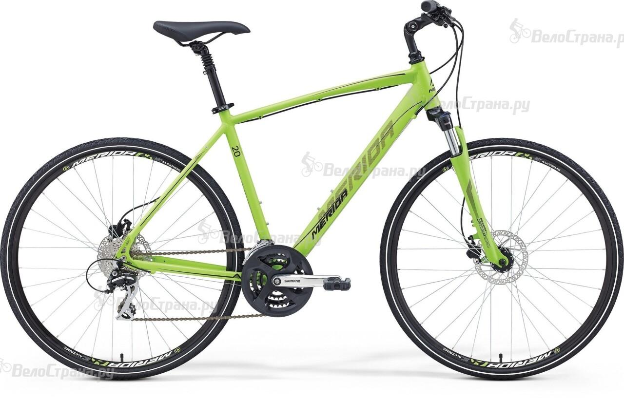 Велосипед Merida Crossway 20-D (2016) велосипед merida big nine 20 d 2016