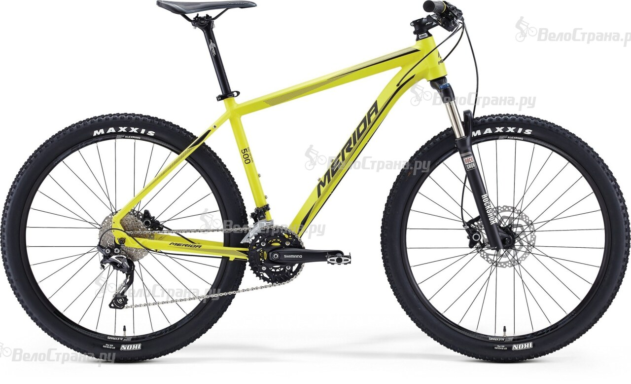 Велосипед Merida Big.Seven 500 (2016)