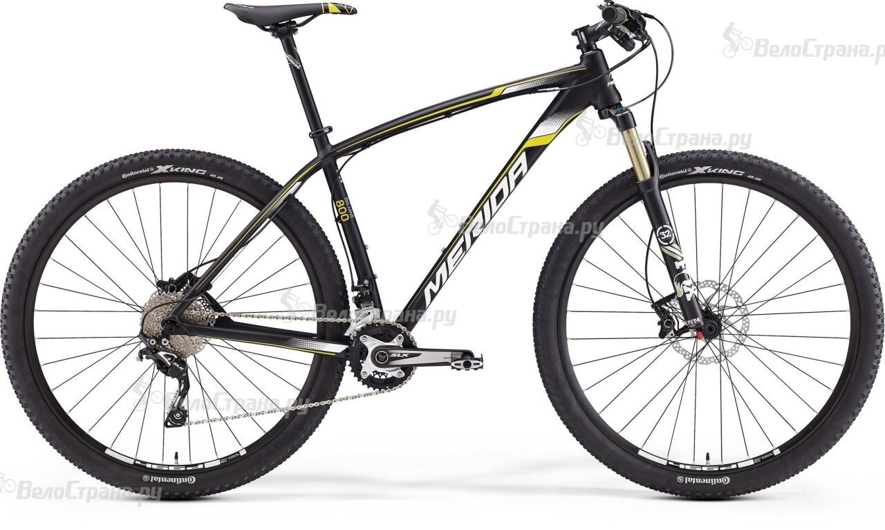 Велосипед Merida Big.Nine 800 (2016) merida bigseven 800 27 5