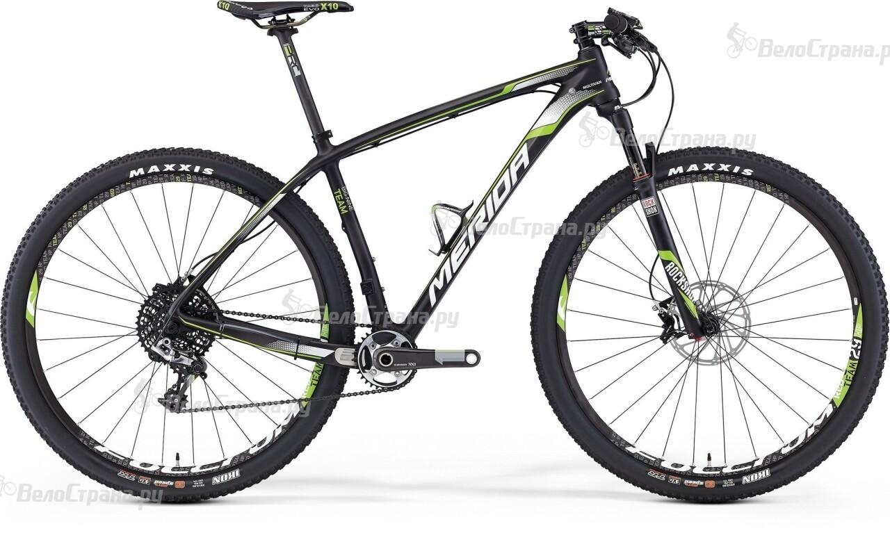 Велосипед Merida Big.Nine Team (2016) велосипед gt sanction team 2016