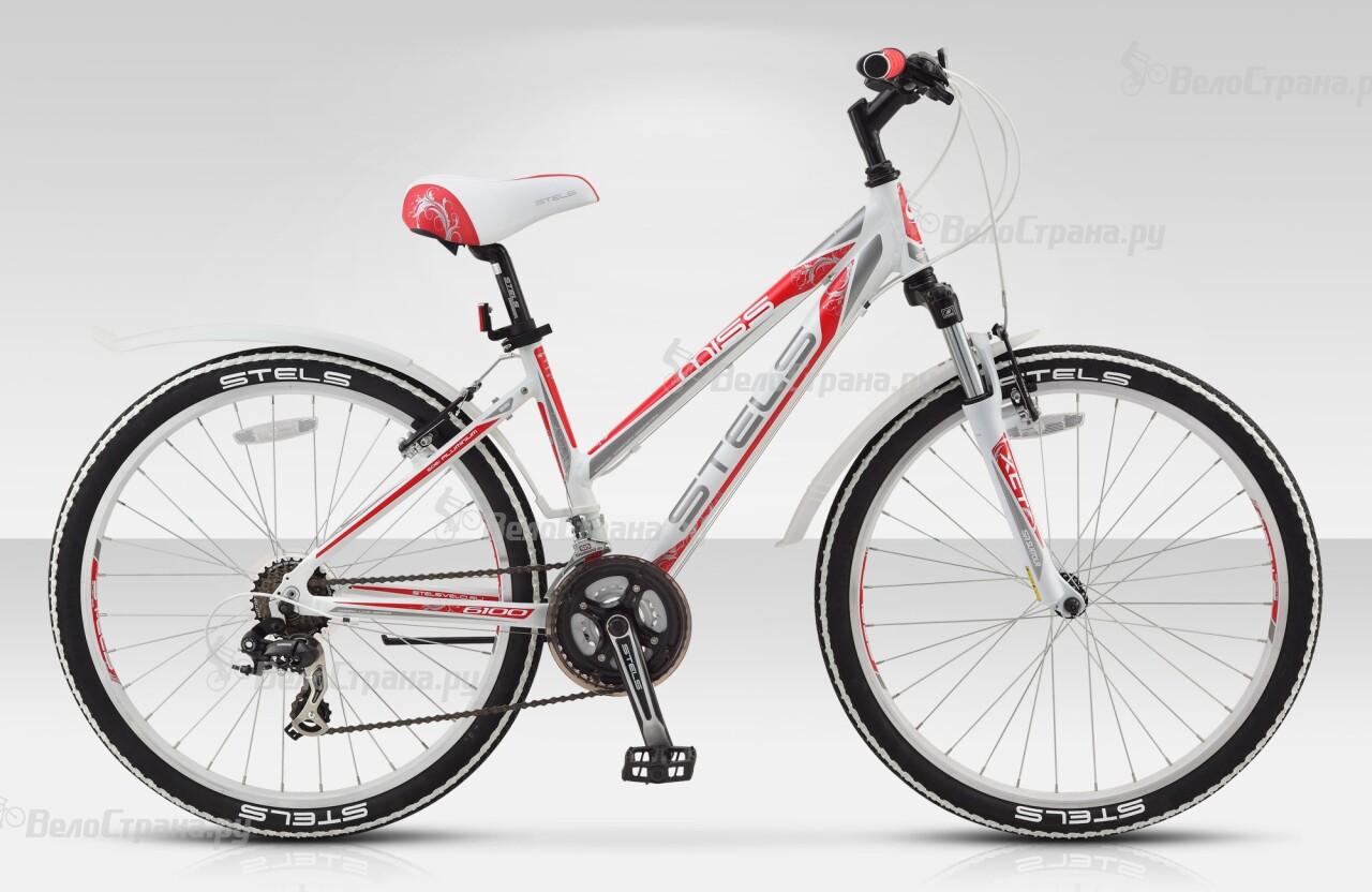 Велосипед Stels Miss 6100 V (2015) велосипед stels miss 6100 md 26 2017