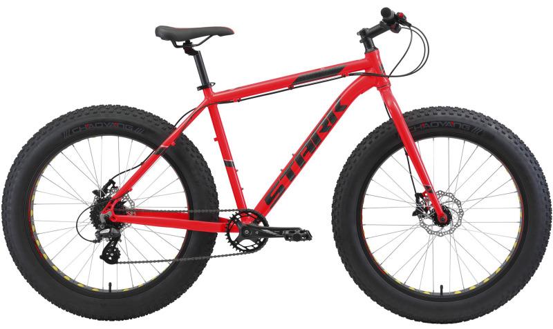 Горный велосипед Stark Fat 26.2 HD (2021) купить в Москве, цена, фото в интернет-магазине ВелоСтрана.ру