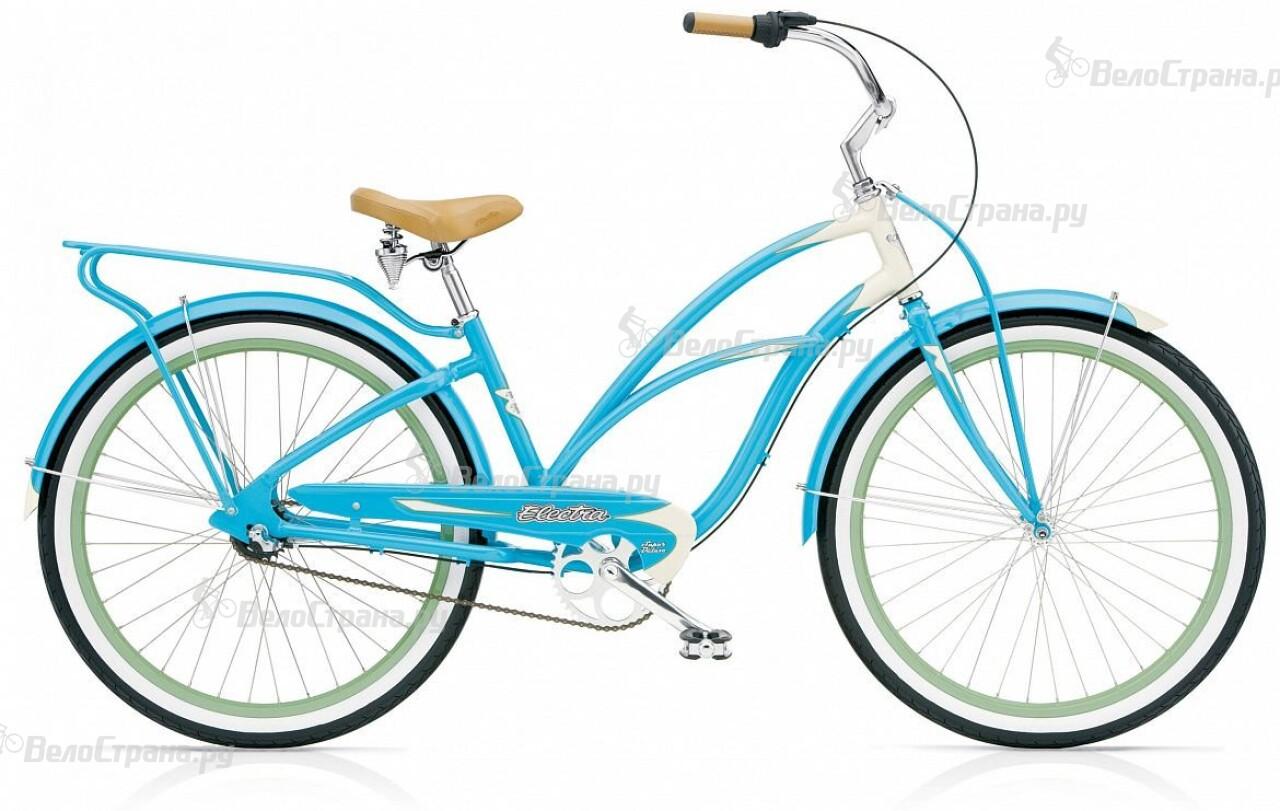 Велосипед Electra Cruiser Super Deluxe 3i Ladies (2015) велосипед electra cruiser hanami 3i ladies 2015