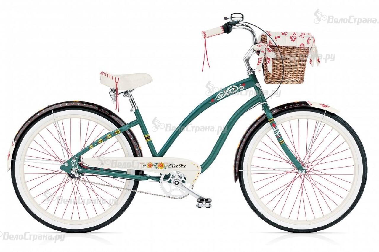 Велосипед Electra Cruiser Gipsy 3i Ladies (2015) велосипед electra cruiser hanami 3i ladies 2015