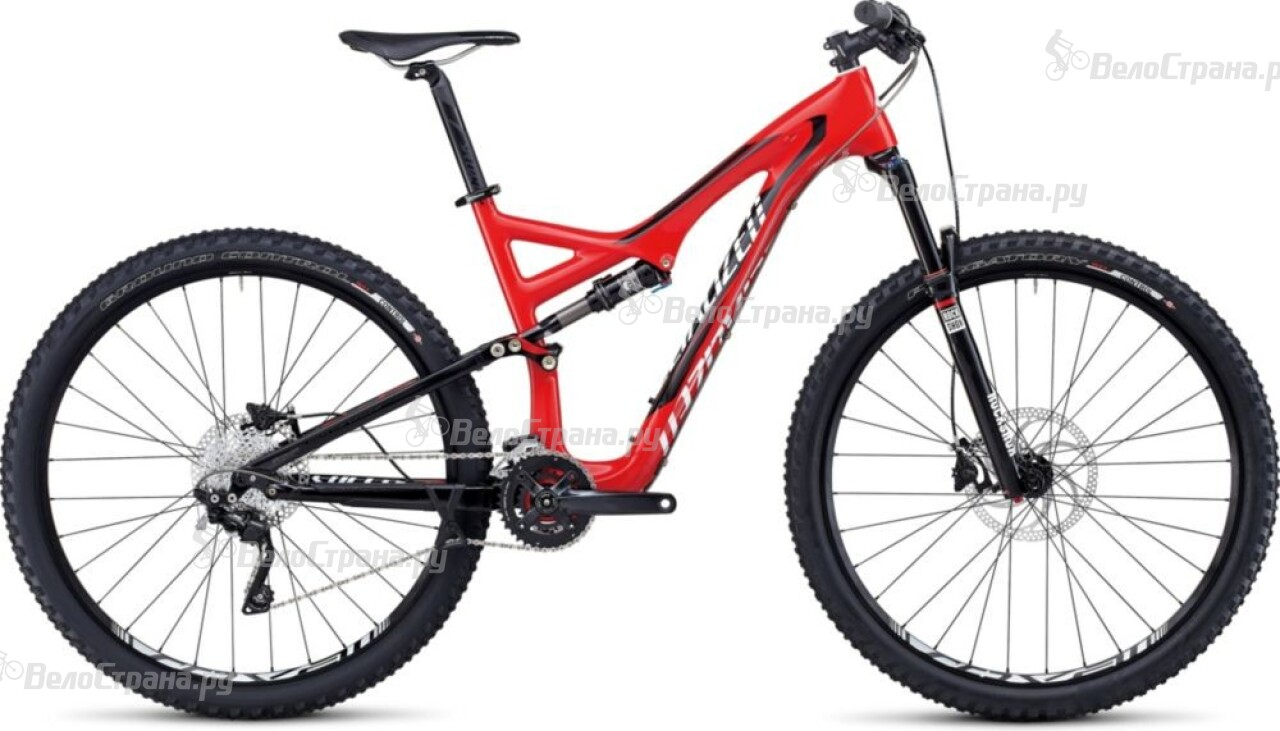 Велосипед Specialized STUMPJUMPER FSR COMP CARBON 29 (2014) manitou marvel comp 29