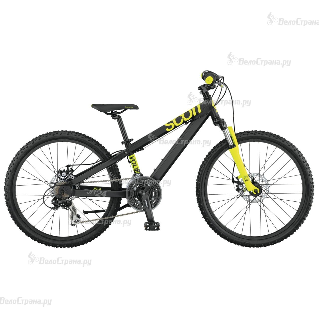 Велосипед Scott Voltage Junior 24 Disc (2015) велосипед scott voltage jr 24 24 2016