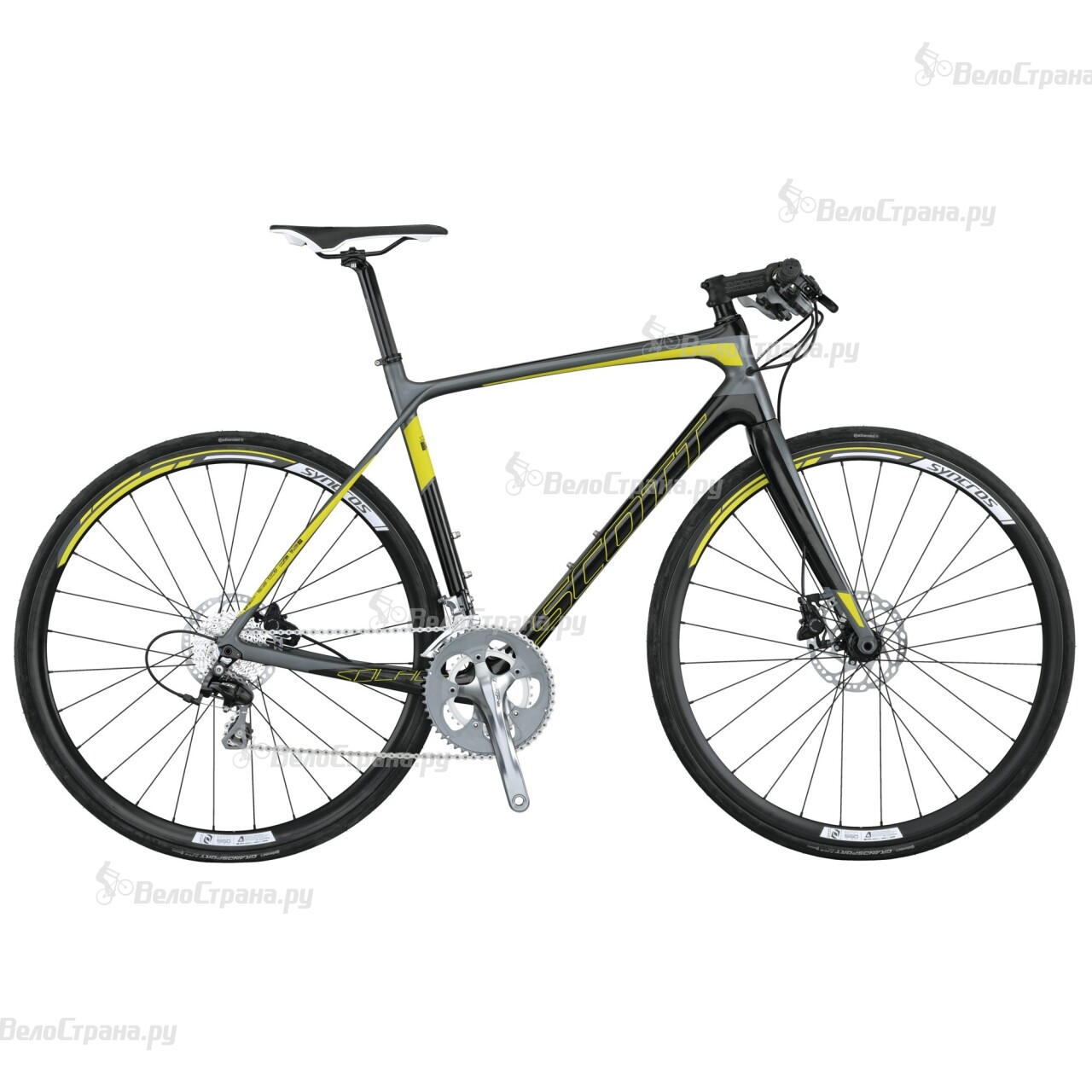 Велосипед Scott Solace 40 FB Disc (2015) велосипед scott solace 30 2015