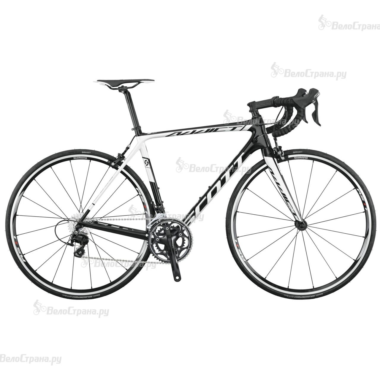 Велосипед Scott Addict 30 (2015) scott addict sl compact 2015