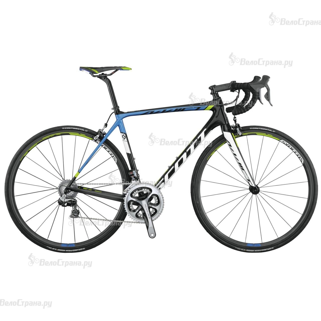 Велосипед Scott Addict Team Issue DI2 (2015) scott addict sl compact 2015