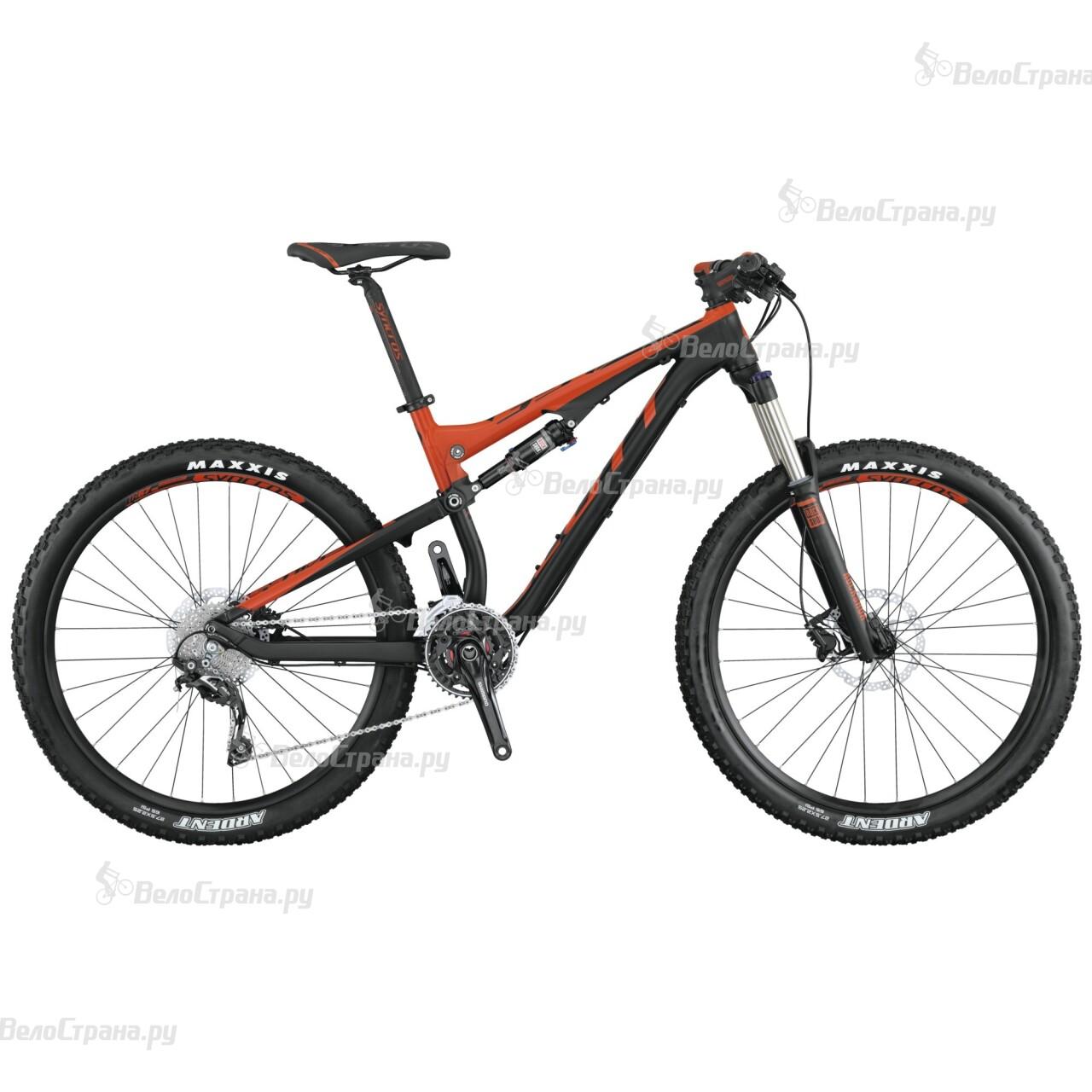 Велосипед Scott GENIUS 750 (2015) scott genius 750 2015