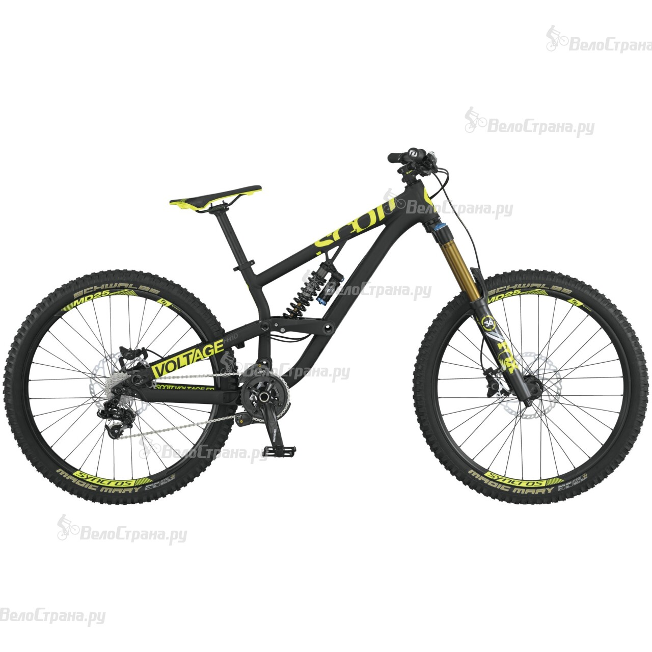 Велосипед Scott Voltage FR 710 (2015)