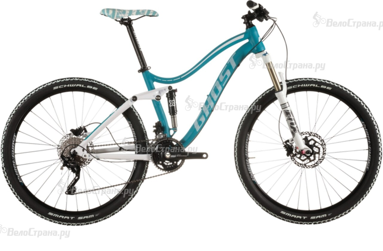 Велосипед Ghost Lanao FS 4 (2015) велосипед challenger mission lux fs 26 черно красный 16