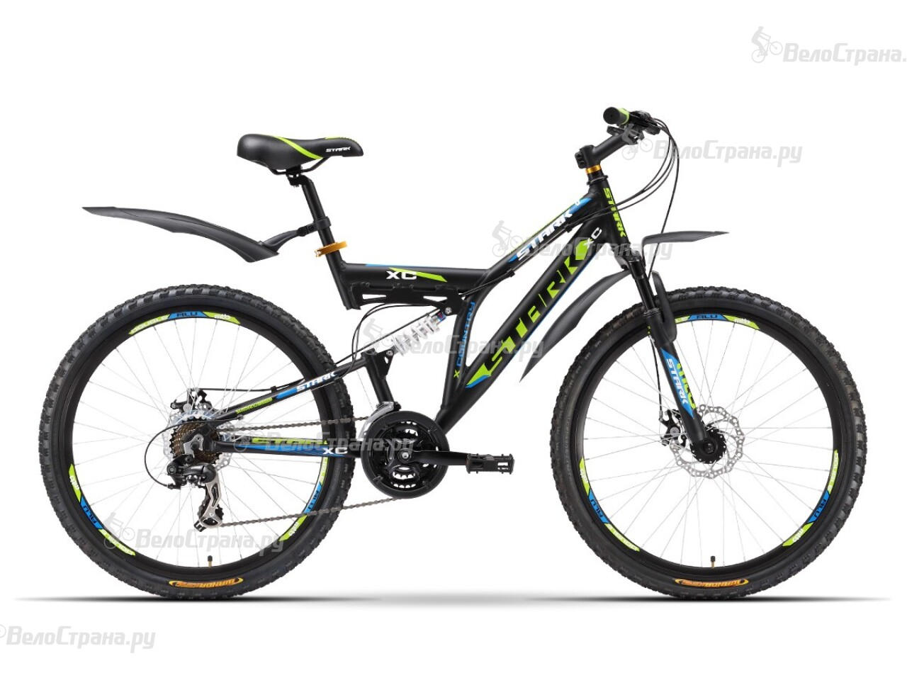Велосипед Stark Jumper Disc (2016) stark jumper 18 2016 black green