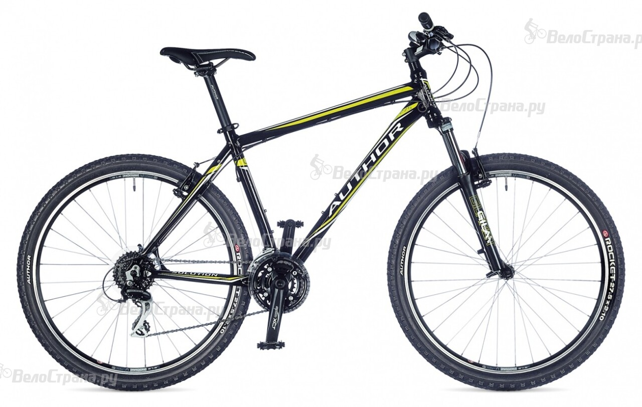 Велосипед Author Solution 27 (2015) велосипед author outset disc 2015