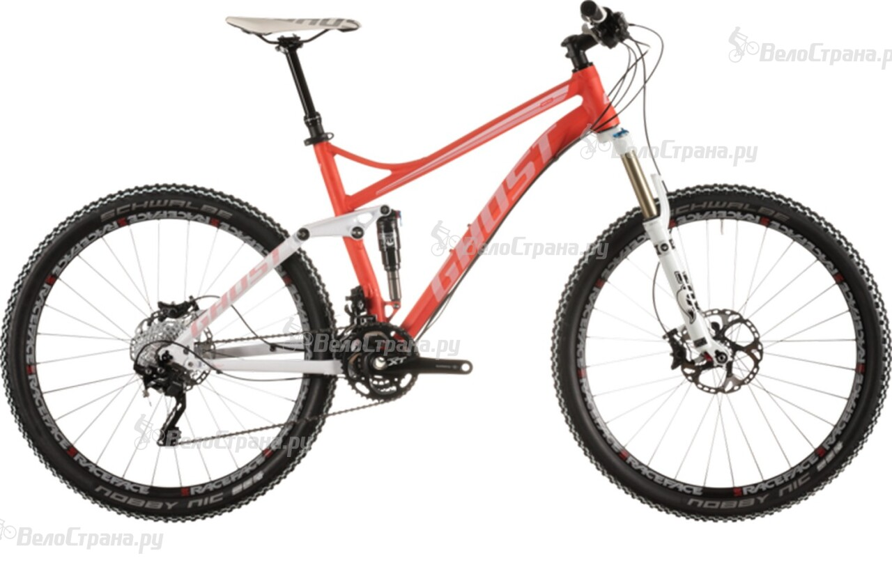 Велосипед Ghost Kato FS 8 (2015) велосипед challenger mission lux fs 26 черно красный 16