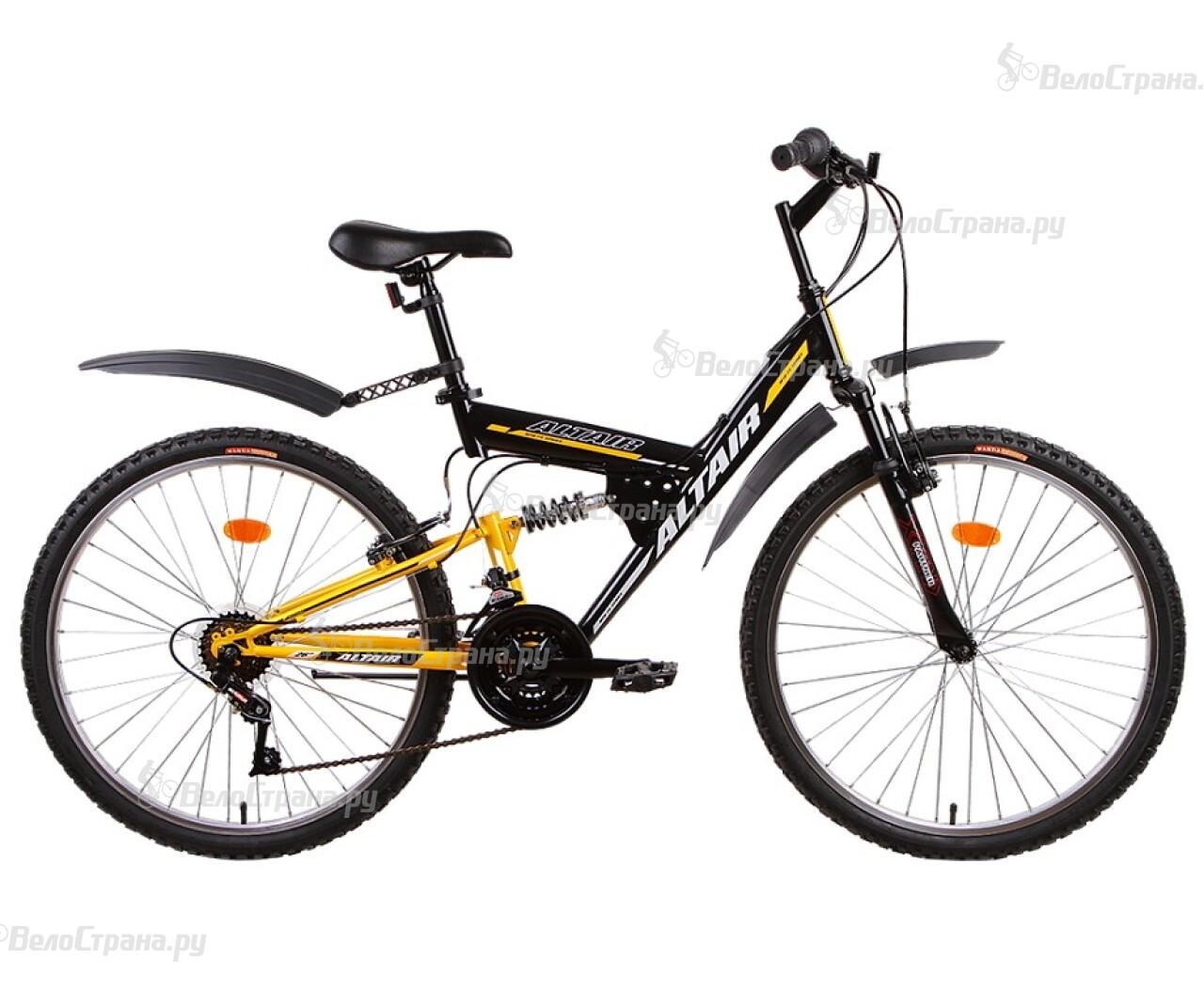 Велосипед Forward Altair MTB FS 26 (2015) велосипед challenger mission lux fs 26 черно красный 16