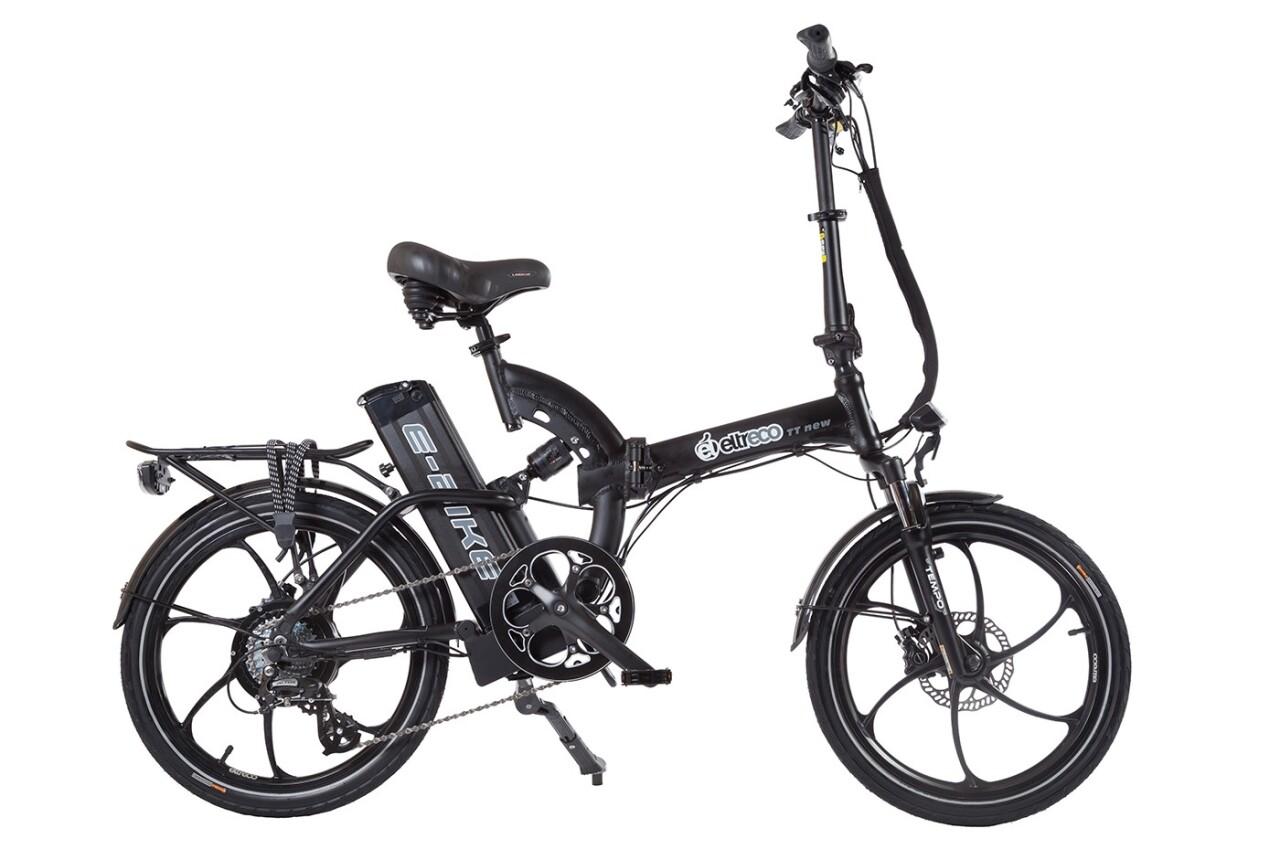 Велосипед Eltreco TT 500W VIP (2016) tt 02 diy car model tt motor encoder w wheel black yellow