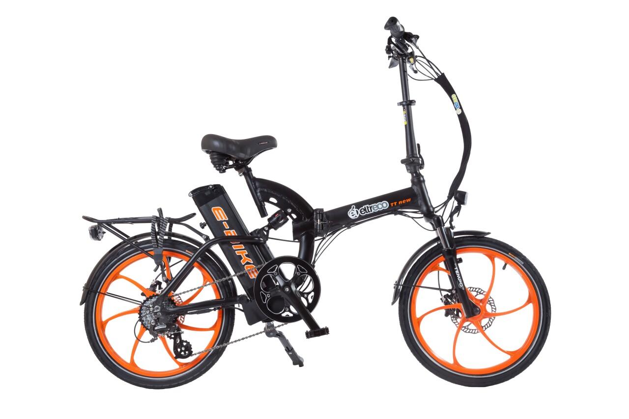 Велосипед Eltreco TT VIP 350W (2016) tt 02 diy car model tt motor encoder w wheel black yellow