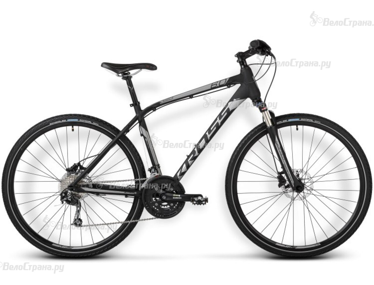 Велосипед Kross Evado 6.0 (2015) 2015 csm360