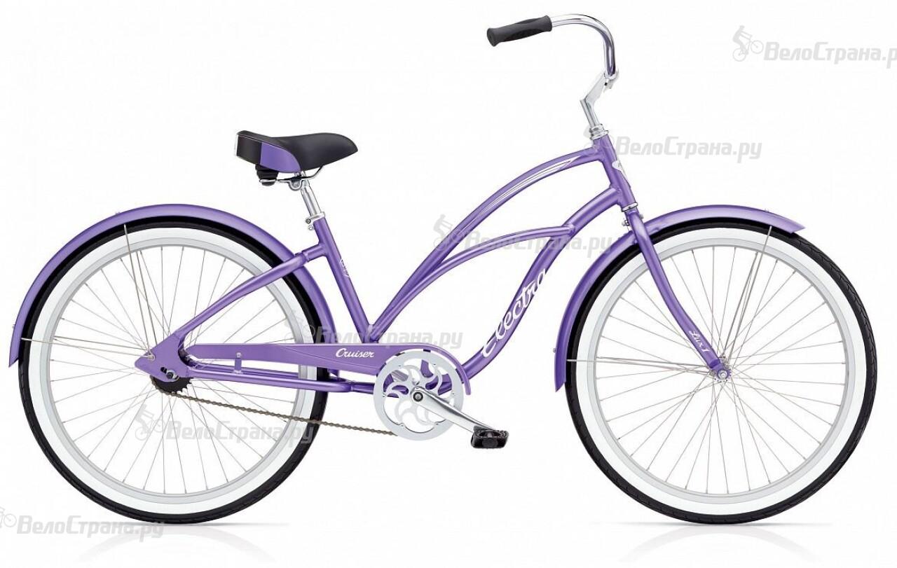 Велосипед Electra Cruiser Lux 1 (2016) велосипед challenger mission lux fs 26 черно красный 16