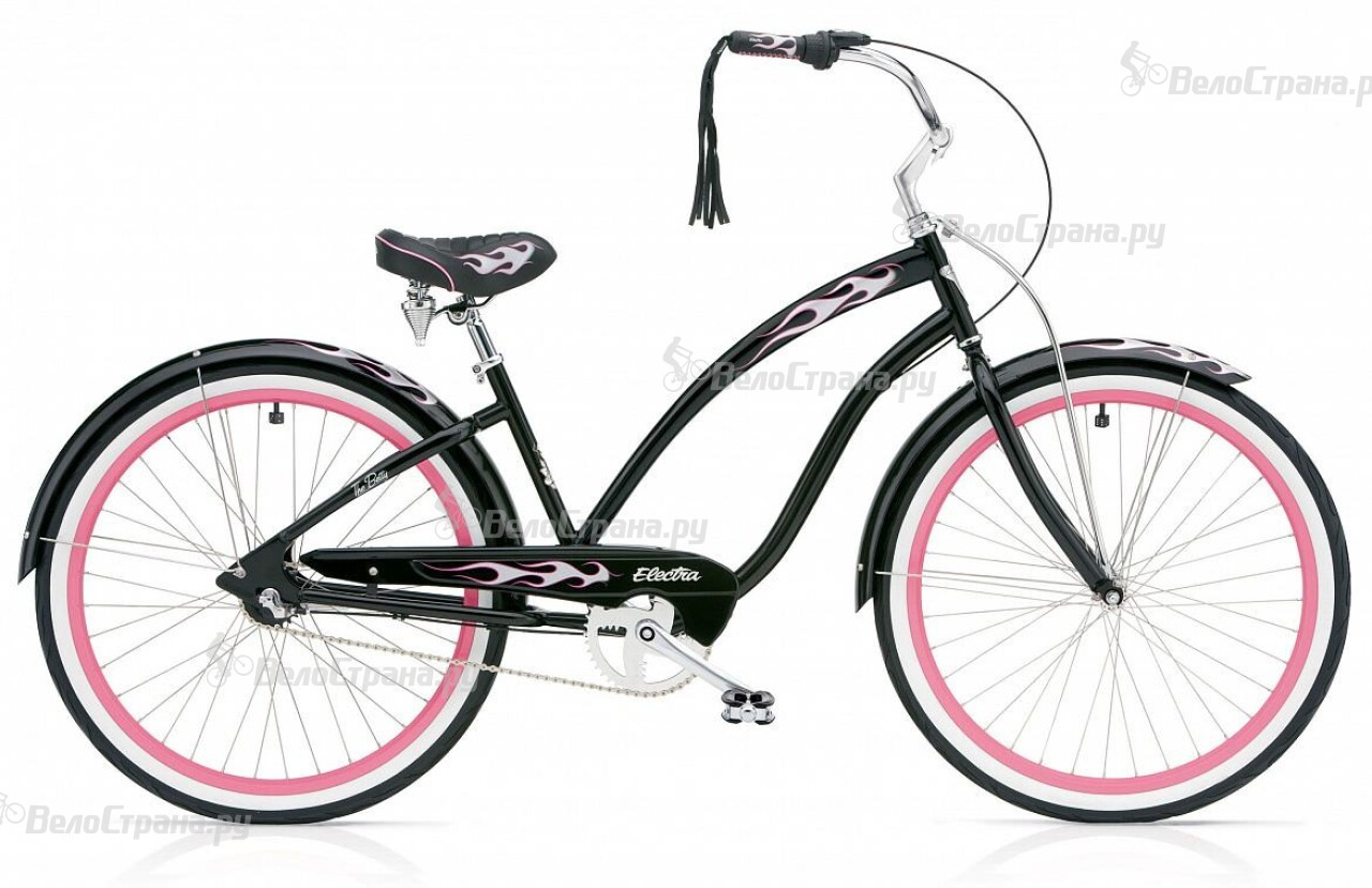 Велосипед Electra Cruiser Betty 3i Ladies' (2016) велосипед electra cruiser cherie 3i ladies' 2016