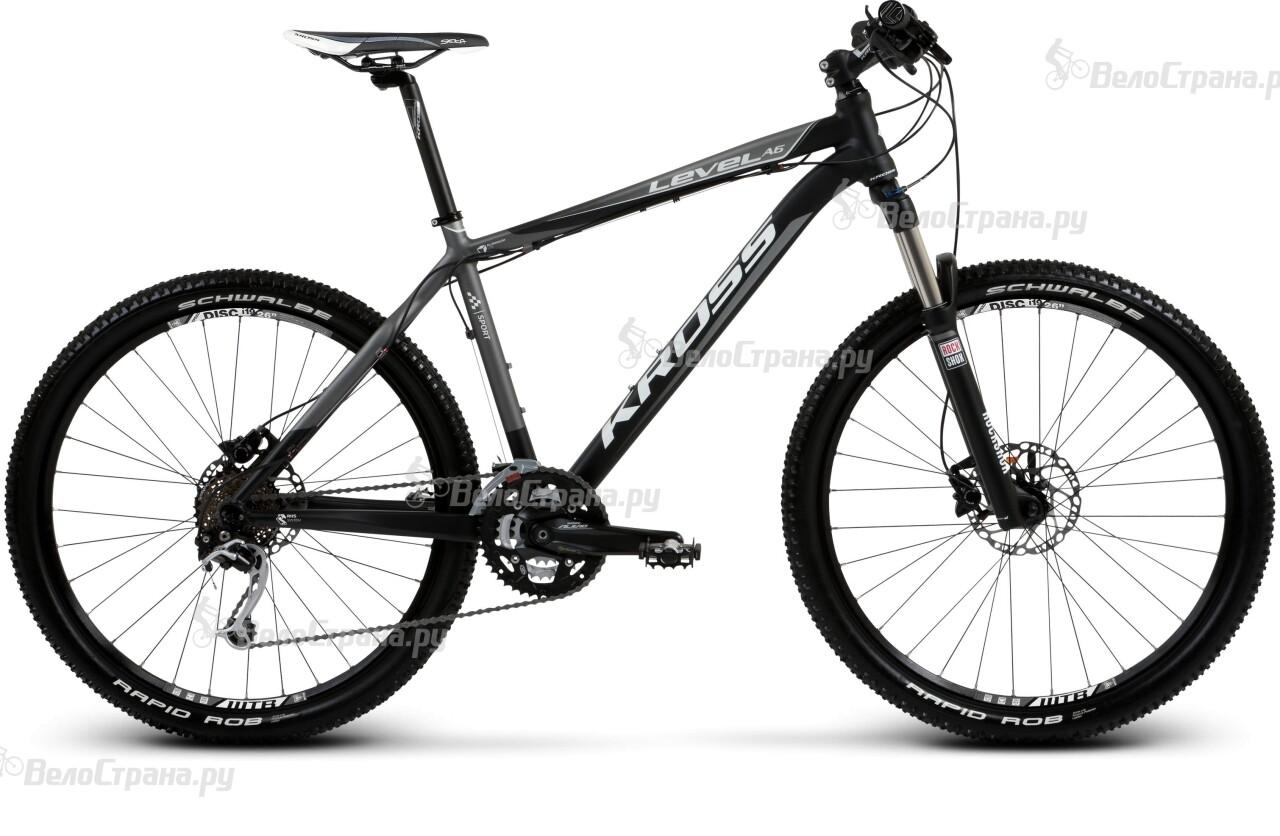 Велосипед Kross LEVEL A6 (2013) тормозные колодки bbb 2014 discstop comp w magura marta marta sl till 2008 bbs 34