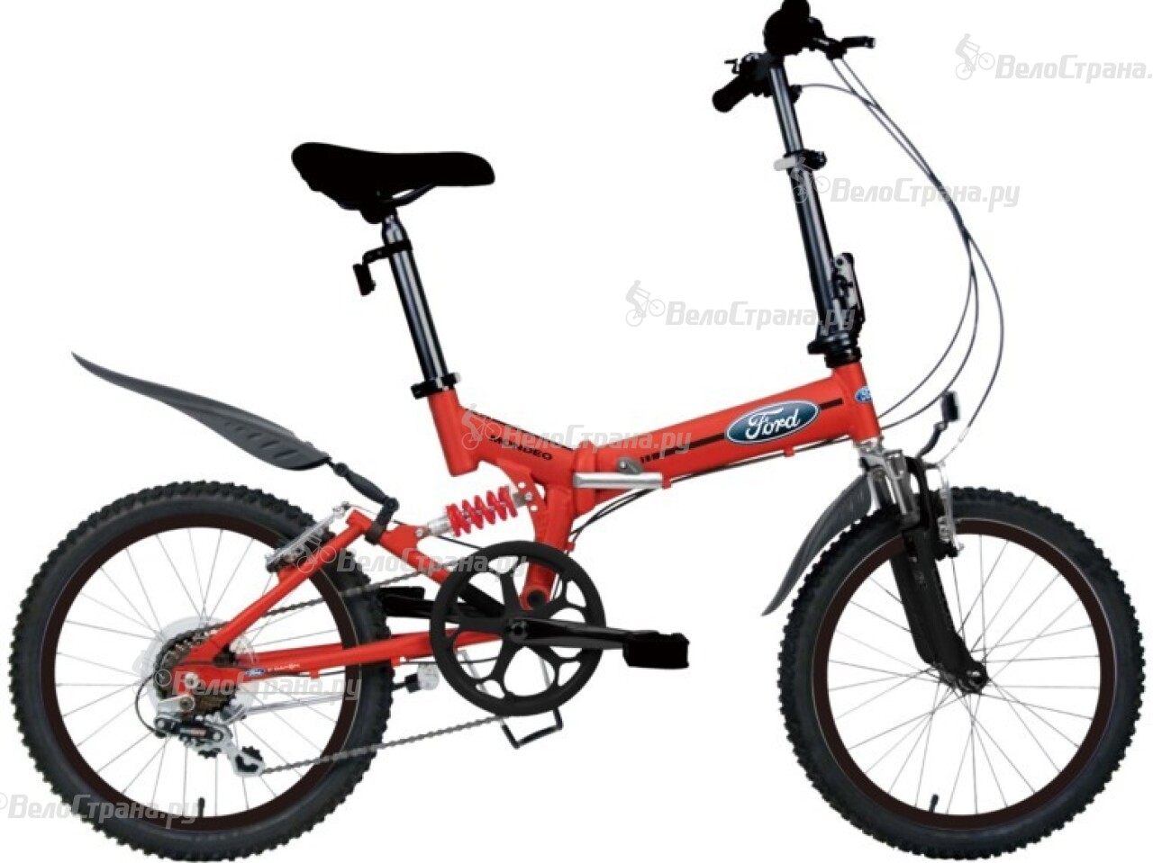Велосипед Ford 20 Mondeo (2016) redpower 21003 ford mondeo серый