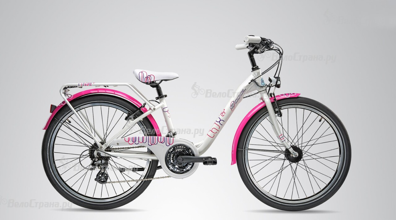 Велосипед Scool chiX pro 24 24-S (2015) велосипед scool chix pro 24 24 s 2016